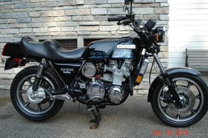 1981 Kawasaki Kz-1300 Turbo
