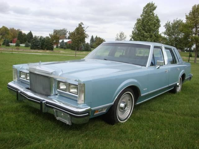 1981 lincoln town car for sale in milbank south dakota classified. Black Bedroom Furniture Sets. Home Design Ideas