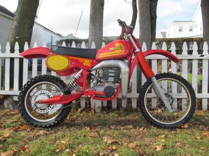 1981 Maico 490 `Delivery Worldwide`