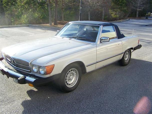 1981 Mercedes Benz 380sl For Sale In Charleston South