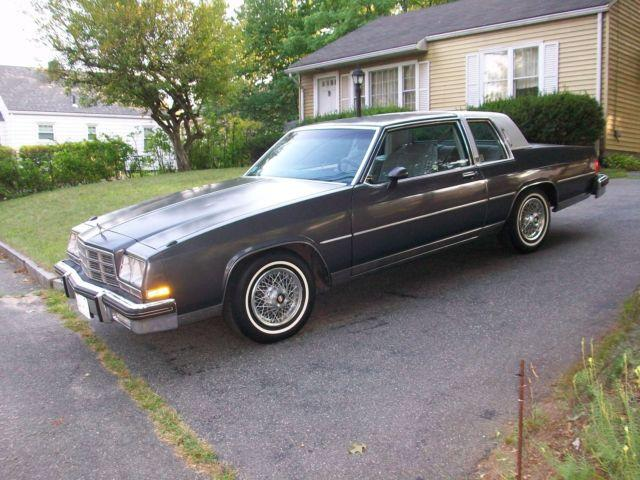 1982 Buick Lesabre Coupe Limited Low Mileage Elderly Owned Garaged For Sale In Springfield