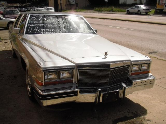1982 Cadillac Fleetwood Brougham for Sale in Pittsburgh ...
