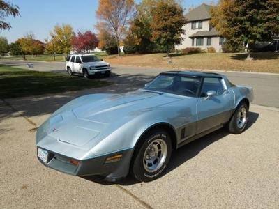 1982 chevrolet corvette base coupe 2 door 5 7l for sale in willmar minnesota classified. Black Bedroom Furniture Sets. Home Design Ideas