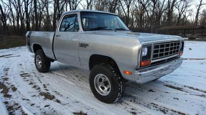 1982 dodge ram 1500 for sale in parshall north dakota. Black Bedroom Furniture Sets. Home Design Ideas