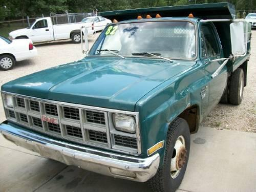 American Auto Sales Little Rock: 1982 GMC C 3500 Dump W/low Miles For Sale In Bourbon