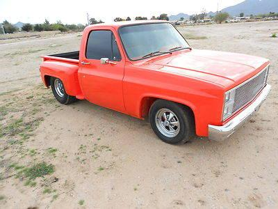 1982 Gmc Supercharged,Pro street stepside