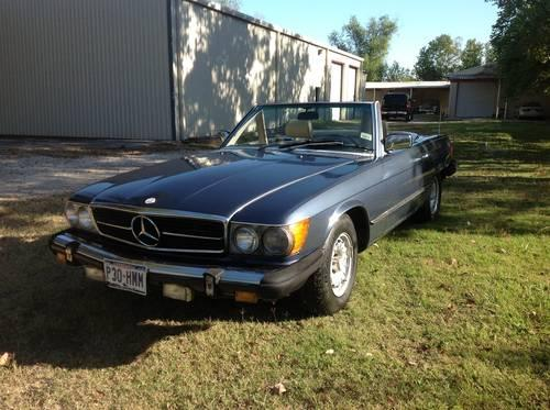 1982 mercedes 380sl convertible with hardtop 129k for sale for Mercedes benz spring tx