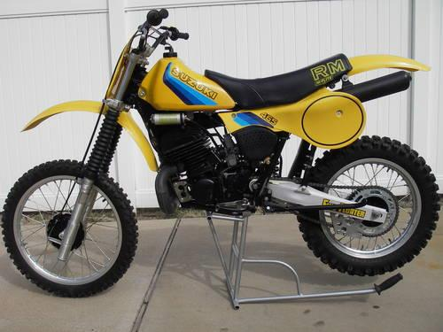1982 SUZUKI RM465Z Vintage MX Clear Title for Sale in ...