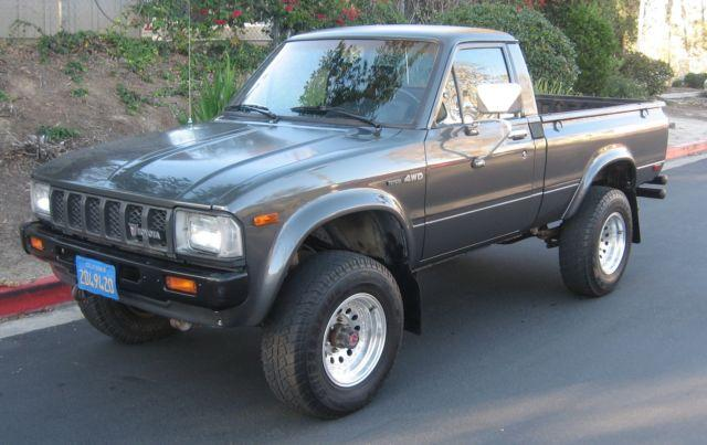 1982 toyota sr5 4x4 shortbed pickup truck 4wd for sale in el toro california classified. Black Bedroom Furniture Sets. Home Design Ideas