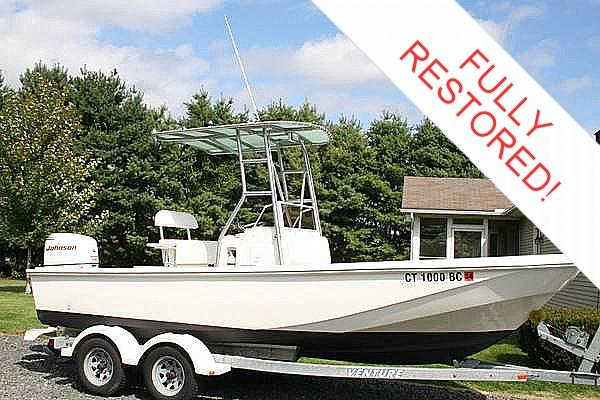 1983 Boston Whaler 20 Outrage Commercial Hull