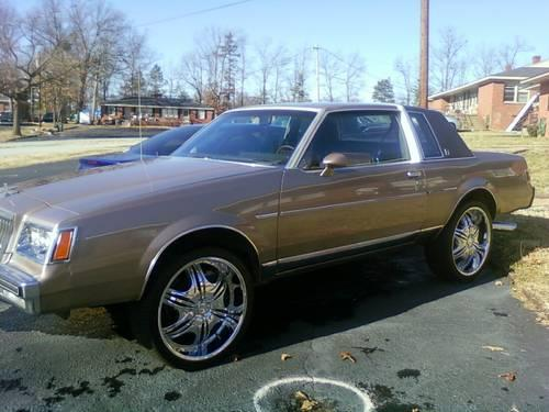1983 buick regal limited for sale in greenville south carolina classified. Black Bedroom Furniture Sets. Home Design Ideas