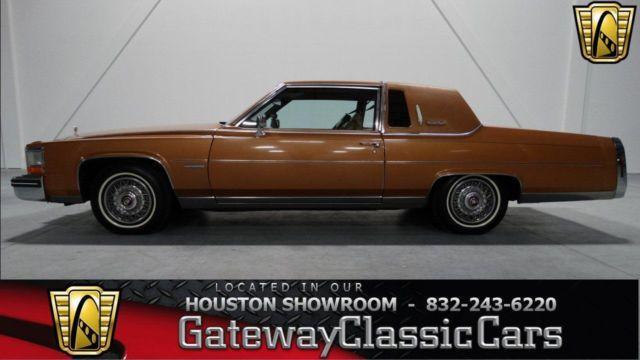 American Auto Sales Houston Tx: 1983 Cadillac Fleetwood #42HOU For Sale In Houston, Texas