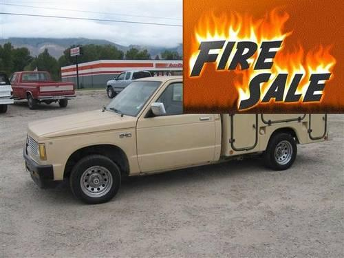 1983 chevrolet s10 pu utility body for sale in baker for Quality motors salmon idaho