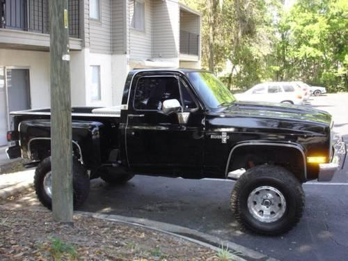 1983 Chevy Stepside 4x4 For Sale In Gainesville Florida