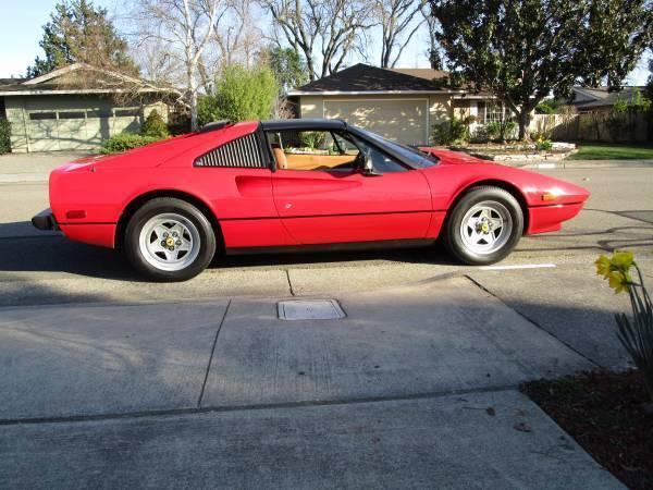 1983 ferrari 308 qv gtsi for sale in santa rosa california classified. Black Bedroom Furniture Sets. Home Design Ideas