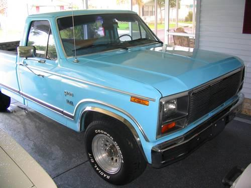 1983 ford f 100 f100 f150 pickup custom 5 0 auto a c duals look for sale in zephyrhills. Black Bedroom Furniture Sets. Home Design Ideas