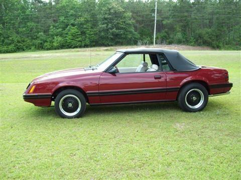 1983 Ford Mustang Convertible Gt For Sale In Longs South
