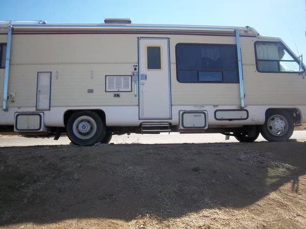 1983 GMC El Dorado 32ft Motorhome - $2500