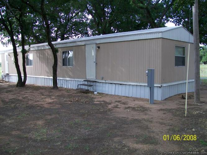 1983 Homette Mobile Home 60x14 In Indiahoma Oklahoma