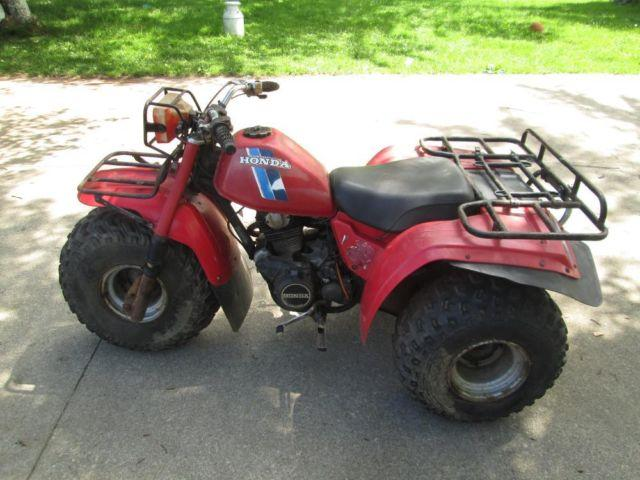 1983 honda atc200 big red for Yamaha 200e 3 wheeler