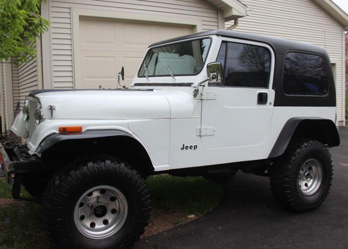 1983 jeep cj7 4 2 tbi fuel injection rust free mint