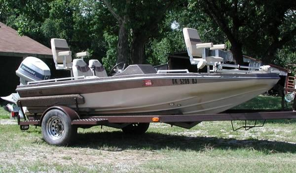 1983 Kingfisher Boat 16 Ft 1983 115 Hp Evinrude For