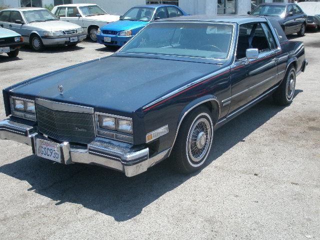 1983 Cadillac Eldorado Biarritz For Sale In Los Angeles