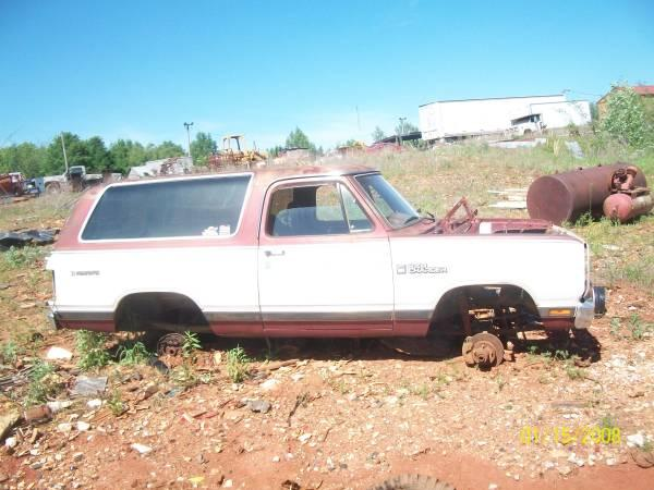1984 84 Dodge Ram Charger 250 Truck for Parts - $1