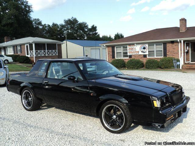 Craigslist Cars For Sale Augusta Ga: 1984 Buick Regal Grand National For Sale In Spartanburg