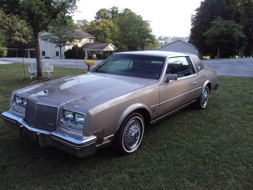 1984 buick riviera coupe antique for sale in manchester. Black Bedroom Furniture Sets. Home Design Ideas