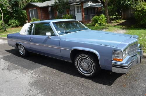 1984 Cadillac Coupe Deville For Sale In Gainesville