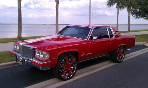 1984 Cadillac Coupe Deville Donk Caprice Impala Must See For Sale