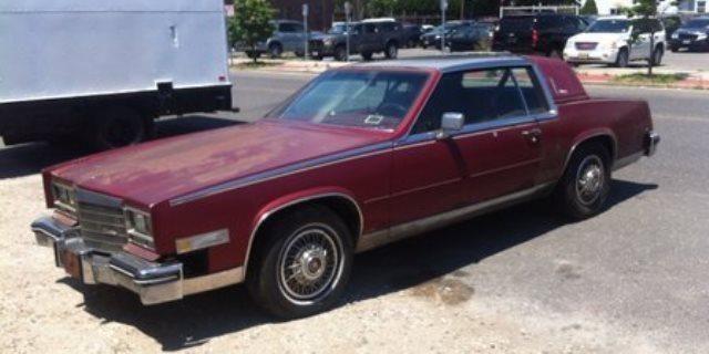 1984 Cadillac Eldorado Biarritz Stainless Top Runs Great Car Project