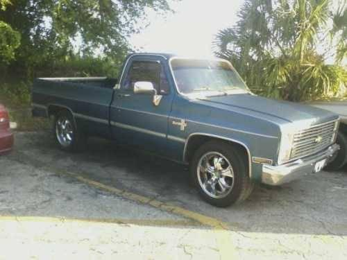1984 chevrolet c10 classic truck in altamonte springs fl for sale in altamonte florida. Black Bedroom Furniture Sets. Home Design Ideas