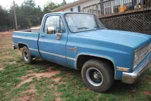 1984 chevrolet c10 shortbed truck upstate sc for sale in greenville south carolina. Black Bedroom Furniture Sets. Home Design Ideas