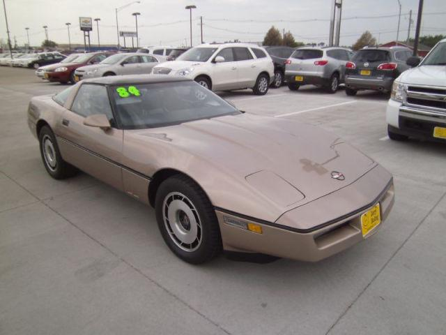 1984 chevrolet corvette for sale in waverly iowa for Jerry roling motors waverly