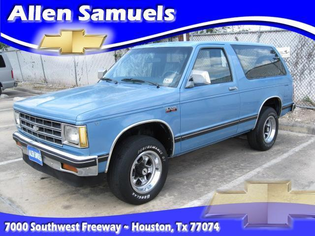 1984 chevrolet s 10 blazer for sale in houston texas classified. Cars Review. Best American Auto & Cars Review