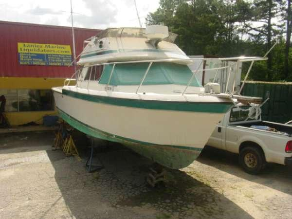 1984 chris craft 315 commander twin 2004 pleasure craft for Chris craft boat accessories