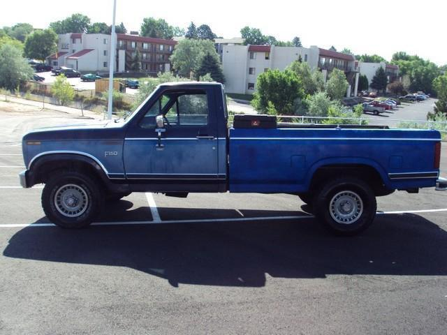 1984 ford f150 for sale in colorado springs colorado classified. Black Bedroom Furniture Sets. Home Design Ideas