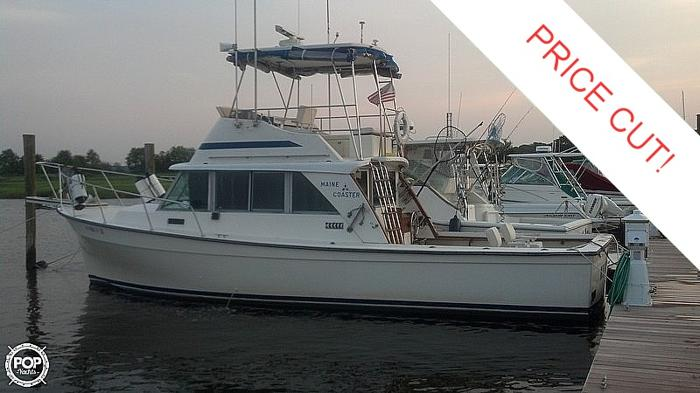 Central Maine Motors >> 1984 Henriques 35 Maine Coaster Tuna for Sale in Parlin ...