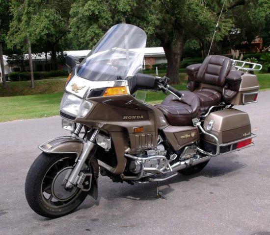 1984 Honda Goldwing Aspencade For Sale In Tampa  Florida