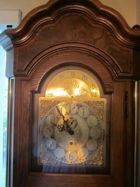 1984 Howard Miller Grandfather Clock For Sale In Leesburg