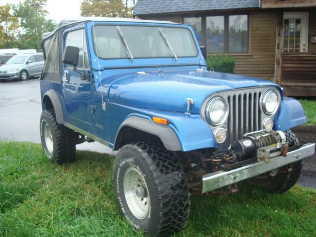 1984 jeep cj 7 for sale in indianapolis indiana classified. Black Bedroom Furniture Sets. Home Design Ideas