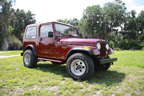 1984 jeep cj 7 for sale in wachula florida classified. Black Bedroom Furniture Sets. Home Design Ideas