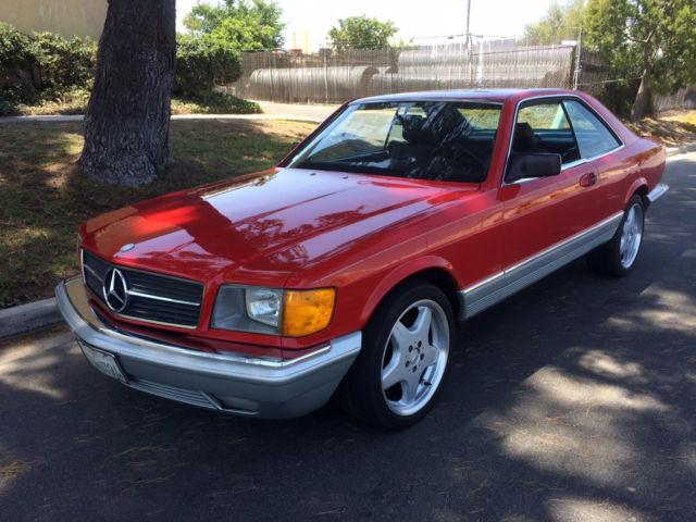 1984 Mercedes 500 SEC for Sale in San Marcos, California Classified ...