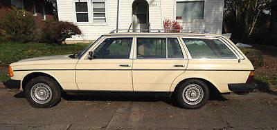 1984 Mercedes Benz 300td Turbo Diesel Wagon For Sale In