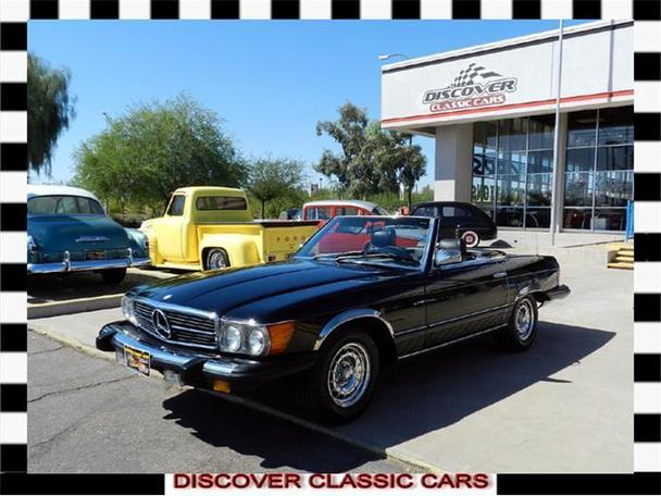 1984 mercedes benz 380sl for sale in scottsdale arizona for Mercedes benz north scottsdale