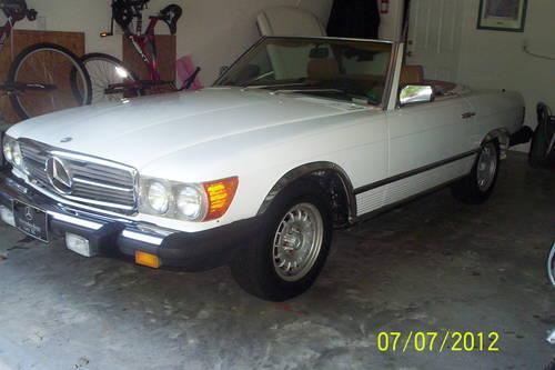 1984 mercedes benz 380sl for sale in myrtle beach south for 1984 mercedes benz 380sl for sale