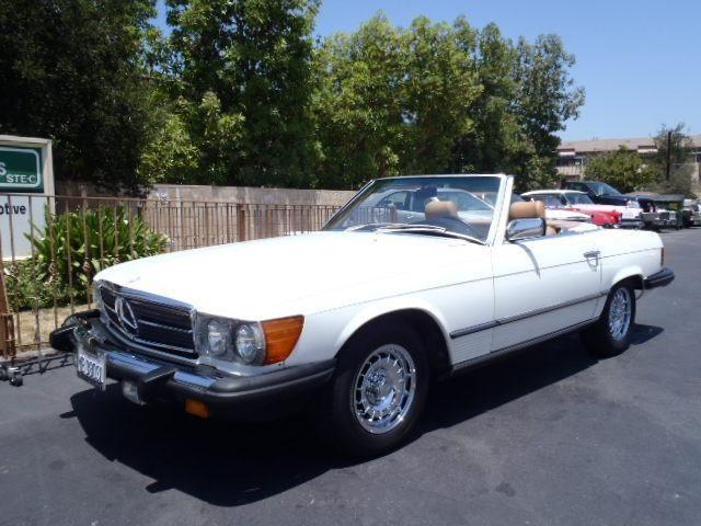 1984 mercedes benz 380sl for sale in thousand oaks for Mercedes benz of thousand oaks