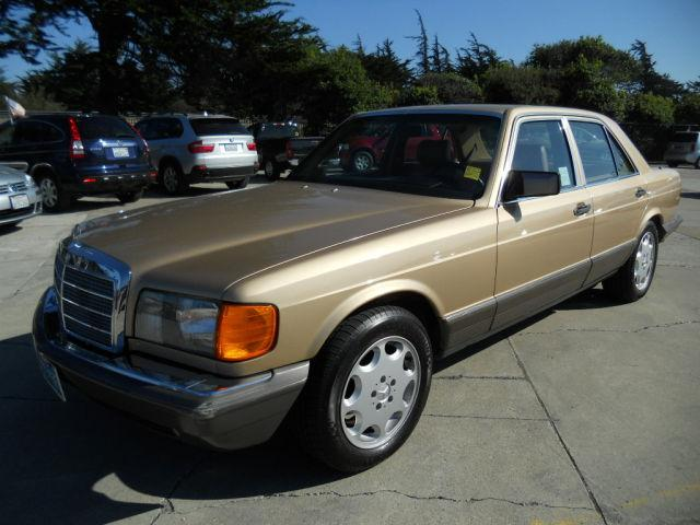 1984 Mercedes Benz S Class 380se For Sale In Monterey
